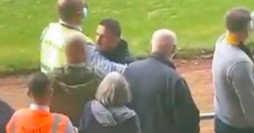 Barry Ferguson in angry Alloa touchline spat as he fires back at fans