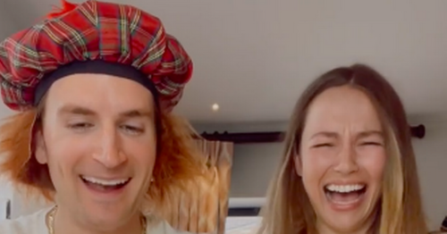 Made in Chelsea's Proudlock says 'bolt hen' in Scots word challenge with wife