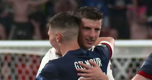 Billy Gilmour Covid moaners in England are just bitter at Wembley draw