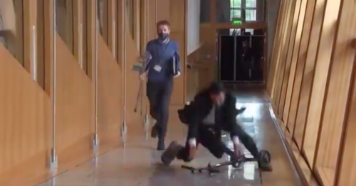 Health Secretary Humza Yousaf 'teased relentlessly' by pals over scooter fall