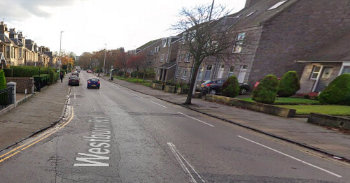 Emergency services race to crash involving motorcyclist in Aberdeen