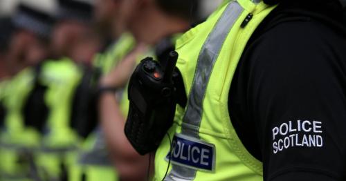 Gang including thug wearing 'joker mask' attacks man near Scots beauty spot