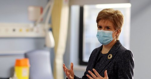 Nicola Sturgeon set to get coronavirus vaccine today as she thanks NHS