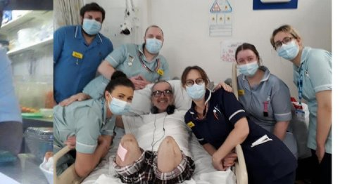 Scots chef wakes up to find both legs amputated after stubbing toe at home
