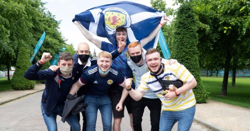 Tartan Army at Glasgow's Fan Zone predict Scotland win ahead of Euros kick off