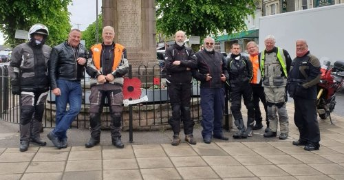 Galloway Motorcycle Club raise £4,000 for Poppyscotland