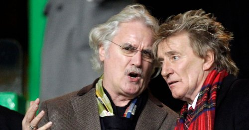Billy Connolly fled cops with Rod Stewart on way to Scotland match
