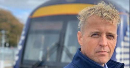 'Handsome' ScotRail worker 'should be Calvin Klein' model in poster boy bid