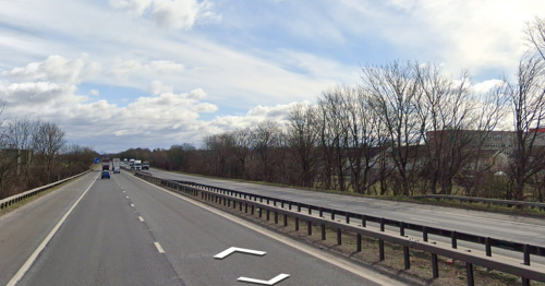 Children aged 7 and 14 in 'critical' condition after horror two car smash on M8