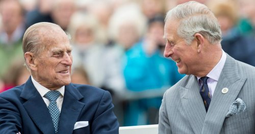 Prince Philip's final gag to Charles the day before he died