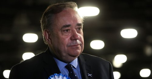 Old battler Alex Salmond went down with his Alba party ship