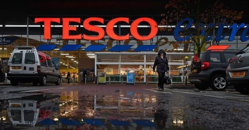 Tesco profits tumble to £825million for the year despite pandemic surge