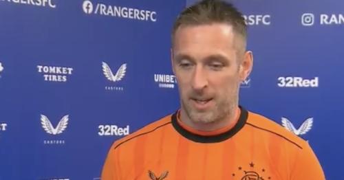 Allan McGregor plays down his Rangers brilliance in brilliant tv interview