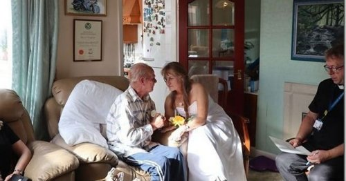 Dying husband's devastating 'last first dance' with wife of 35 years