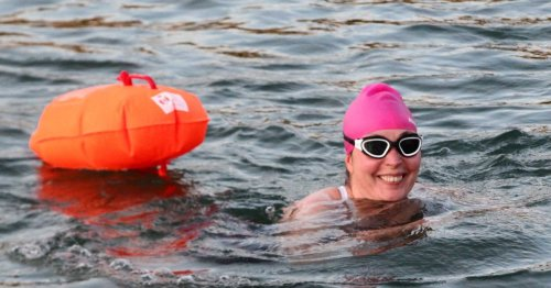 Open water swimmers need to ensure they can be seen