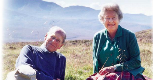 The Queen shares sweet picture with Prince Philip from Scottish Highlands