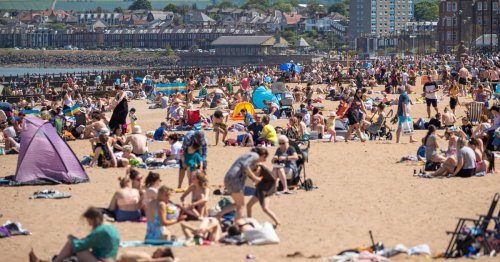 Traffic chaos as crowds head to Scots beaches on one of hottest days of year