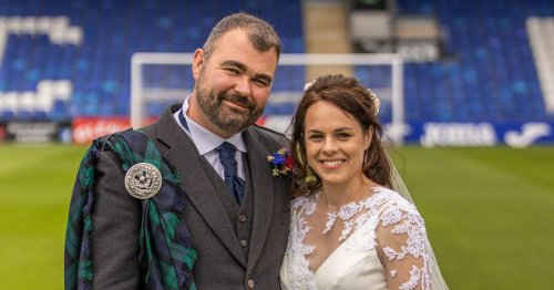 SNP minister Kate Forbes celebrates wedding with visit to Ross County stadium