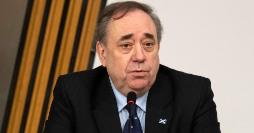 Salmond convinced he's victim of plot- and nothing will persuade him he is wrong