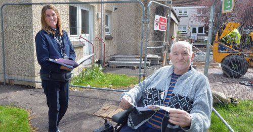 Major renovation for Coatbridge sheltered housing complex