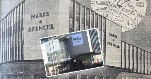 LOOKING BACK: M&S Hamilton and buzz of iconic store opening in the town