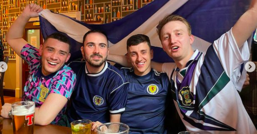 River City actor kicked out of Scots pub 'for singing Scotland song after match'