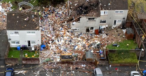 'Strong smell of gas' hours before Ayr explosion which left family-of-four hurt