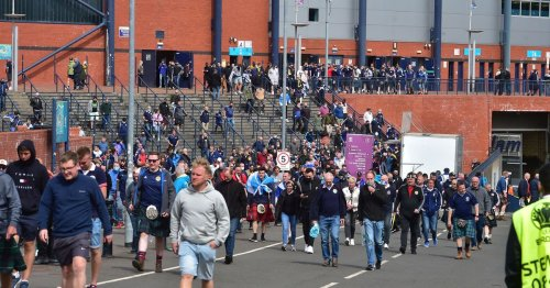 Tartan Army fans leave Hampden with heads down and blast Clarke's selection
