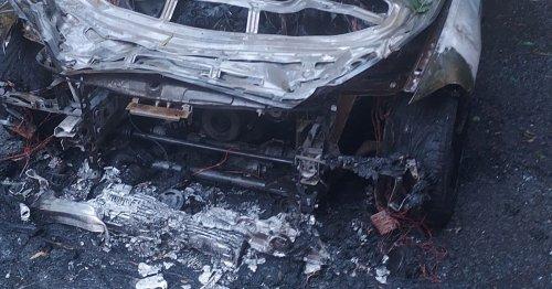 Fire crews tackle blaze in flash £30k BMW outside Scots golf club