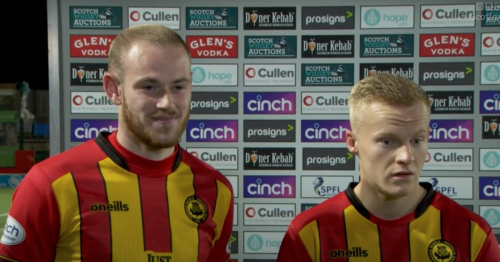 Ian McCall rips Partick Thistle duo for gormless interview