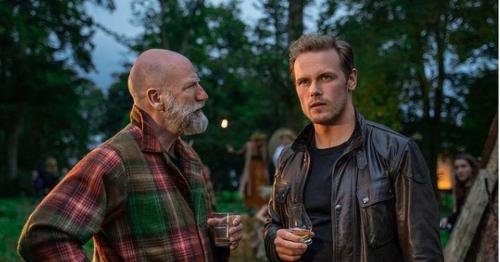 Sam Heughan hopeful for second series of Men in Kilts with Graham McTavish