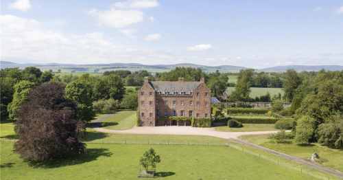 Stunning Scots 'time capsule' castle dating back to 13th century for sale