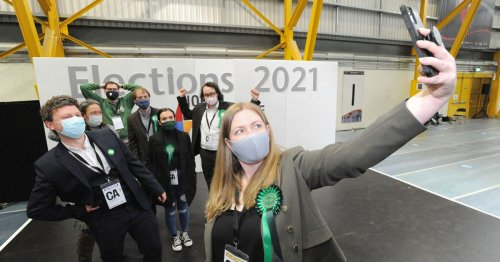 Green MSP makes history in Central Scotland