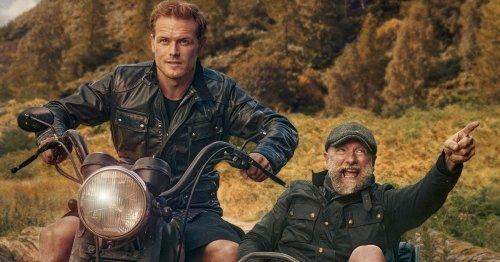 Men In Kilts star Sam Heughan hints for fans to vote in Bafta Scotland awards