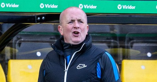 Livingston cup tie date change 'less than ideal' but boss hopes for bounce back