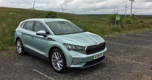 The Skoda Enyaq is a very switched-on electric SUV