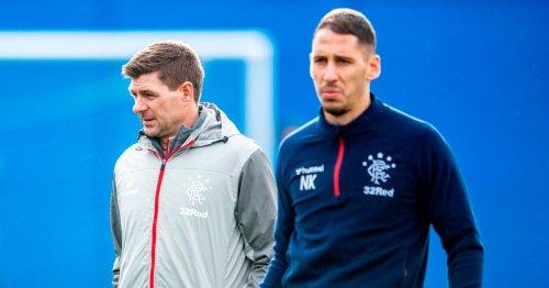 Nikola Katic not ready for regular Rangers action just yet says Steven Gerrard