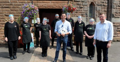 Scottish Labour leader visits Dumfries and Galloway's beauty spots