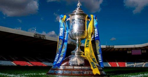 Scottish Cup third round draw LIVE