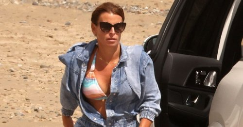 Coleen Rooney enjoys family holiday while Wayne deals with hotel pics' fallout