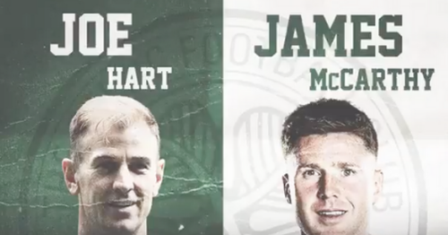 Joe Hart hails Celtic arrival after joining with James McCarthy