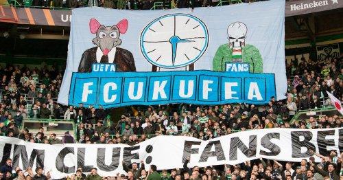 Celtic fans slam Uefa and police for Europa League kick off time