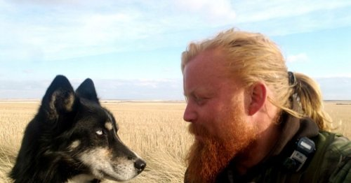 Perthshire man and faithful dog re-start Canada trek after emotional reunion