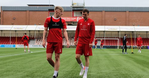 Rangers had me as striker and left winger, I can be Accies' utility man - Shiels