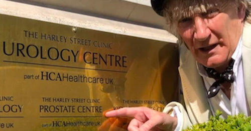Rod Stewart urges fans to get checked for prostate cancer with cheeky message