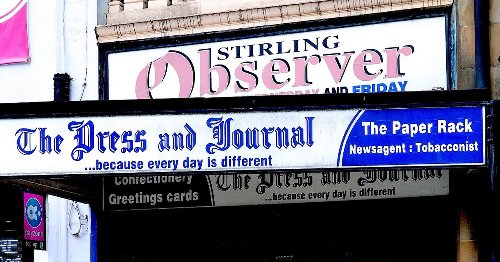 Historic Stirling city centre newsagent shuts doors for the last time