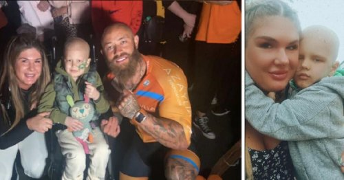 Scots youngster's cancer spotted after mum noticed unusual squint in his eye
