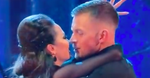 Strictly fans shocked after Adam Peaty 'tries to kiss' Katya Jones on live TV