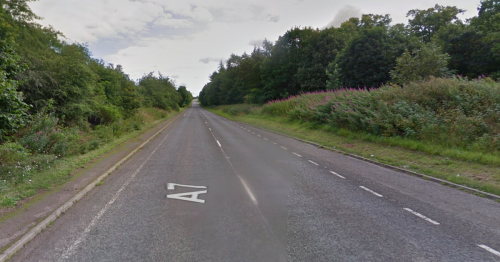 Scots motorcyclists rushed to hospital with serious injuries after crash on A7