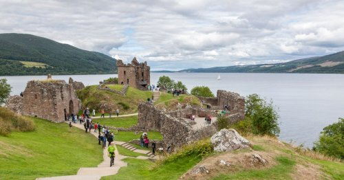 Loch Ness Monster 'spotted' for eighth time this year by father and daughter